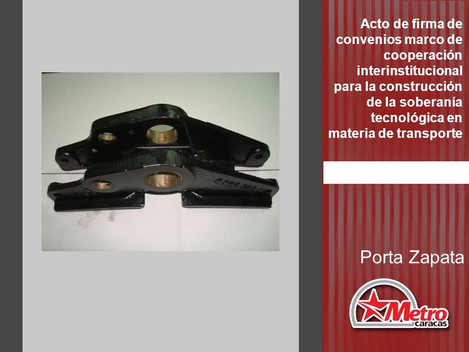 Porta Zapata Acto de firma de convenios marco de cooperación interinstitucional para la construcción de la soberanía tecnológica en materia de transpo