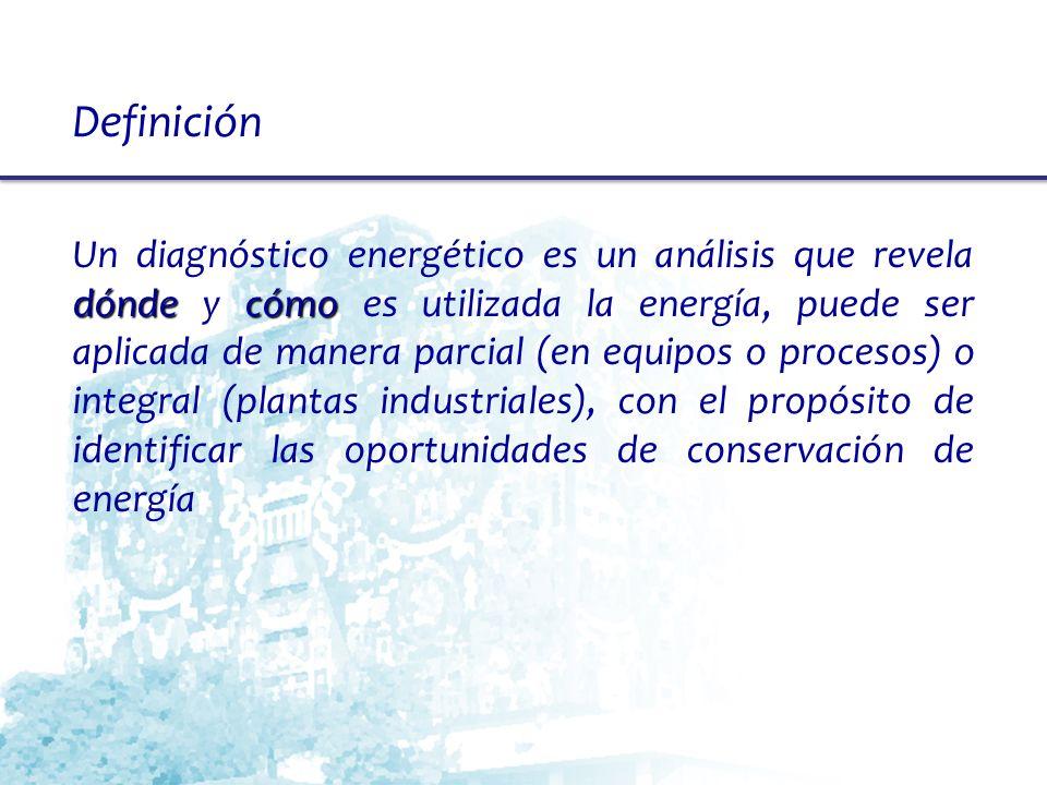 Trabajo en campo (13) Identificar las MAEs, definición Una Medida de Ahorro de Energía (MAE), es toda posibilidad de ahorrar energía, ya sea de tipo operativo o con alguna inversión de capital.