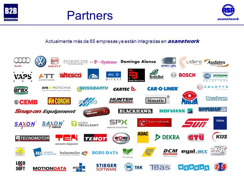 . Actualmente más de 65 empresas ya están integradas en asanetwork Partners