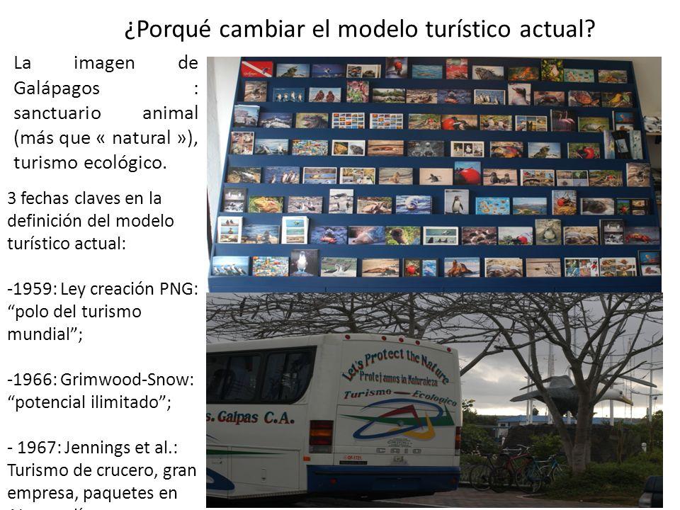 Es por eso que el modelo turístico actual está basado en… Crecimiento indefinido…