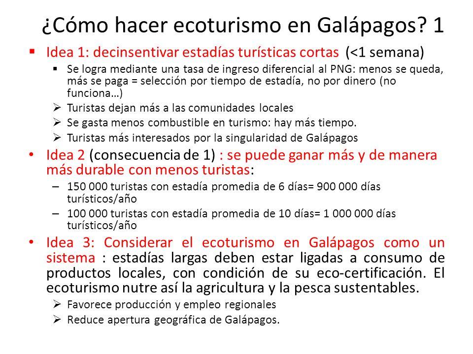 ¿Cómo hacer ecoturismo en Galápagos.