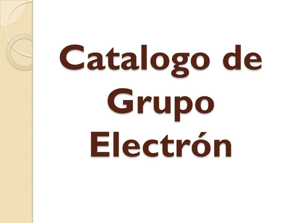 Catalogo de Grupo Electrón
