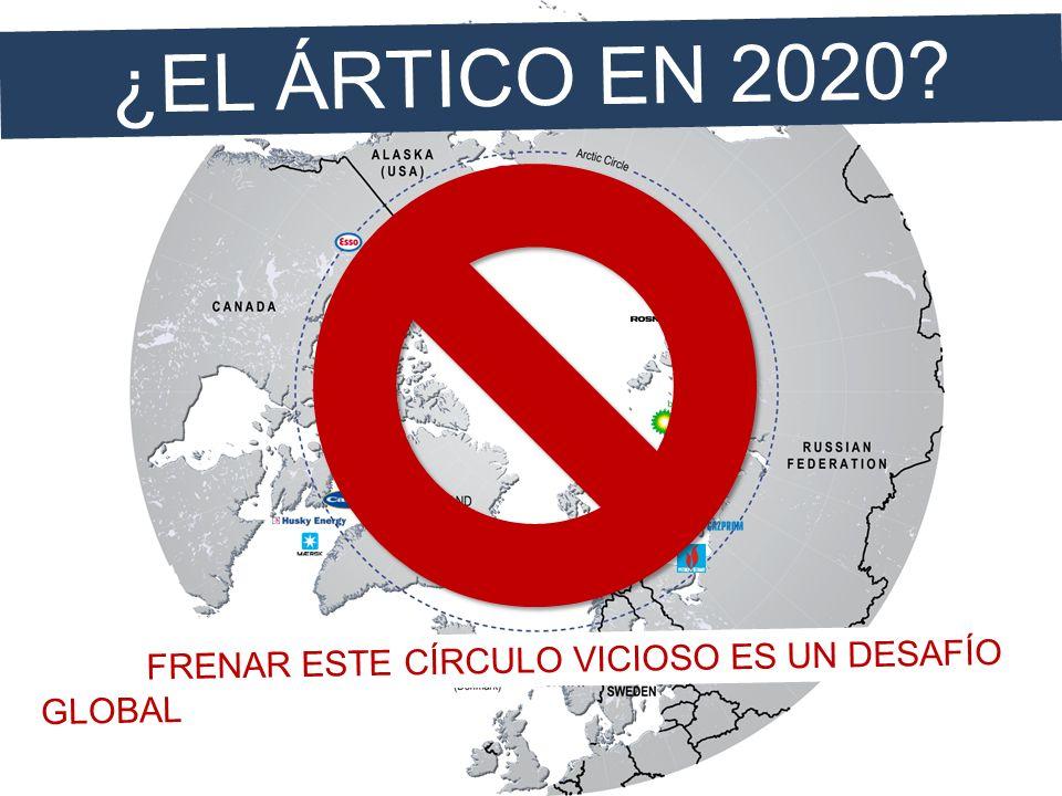 ¿EL ÁRTICO EN 2020 FRENAR ESTE CÍRCULO VICIOSO ES UN DESAFÍO GLOBAL