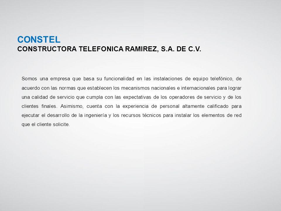 Somos una empresa que basa su funcionalidad en las instalaciones de equipo telefónico, de acuerdo con las normas que establecen los mecanismos naciona