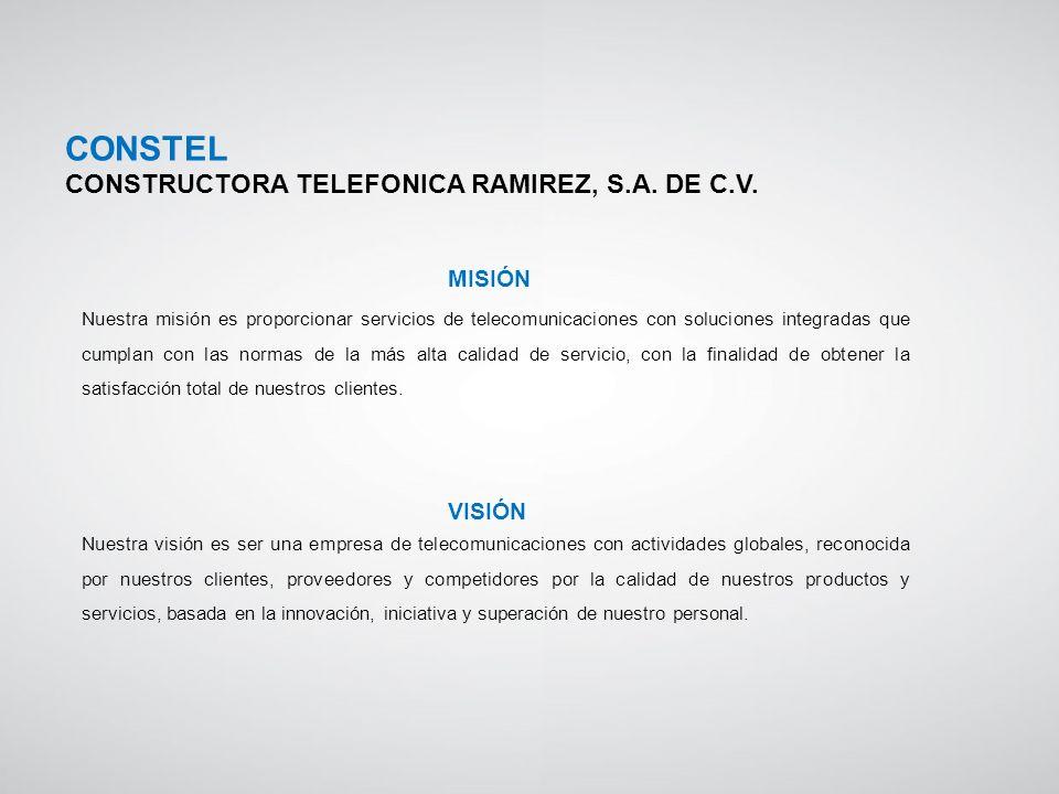 Nuestra misión es proporcionar servicios de telecomunicaciones con soluciones integradas que cumplan con las normas de la más alta calidad de servicio