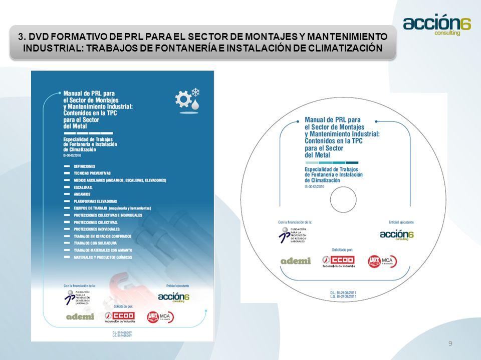 www.accion6.es 10 Destacar la continua labor de ADEMI, de la Federación de Industria de CC.OO.