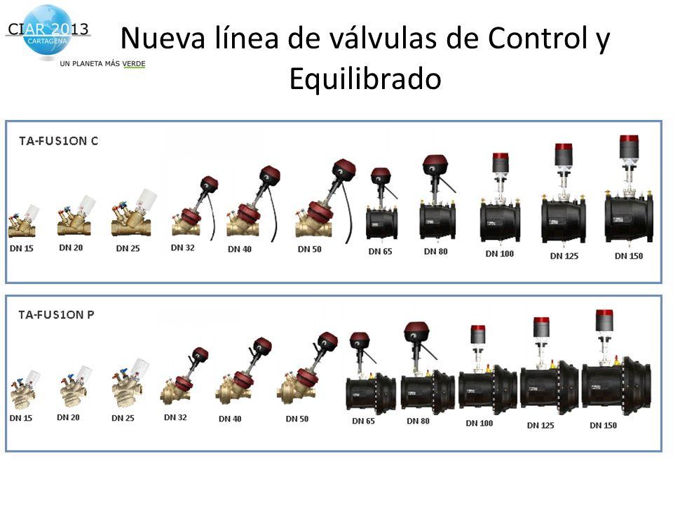 Traemos al presente el futuro de la construcción! Nueva línea de válvulas de Control y Equilibrado
