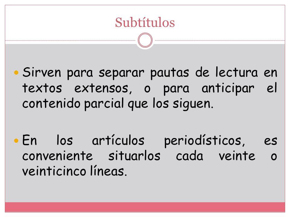 TÍTULO.- Describe centralmente lo tratado en el texto de una manera específica; es decir es el nombre particular del texto.