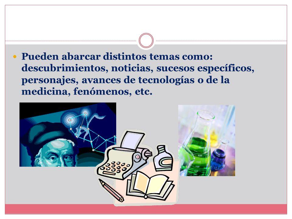 Estos textos son característicos de la ciencia, el periodismo, artículos comerciales, informes, resúmenes, circulares, anuncios, etc. Los niños y la T