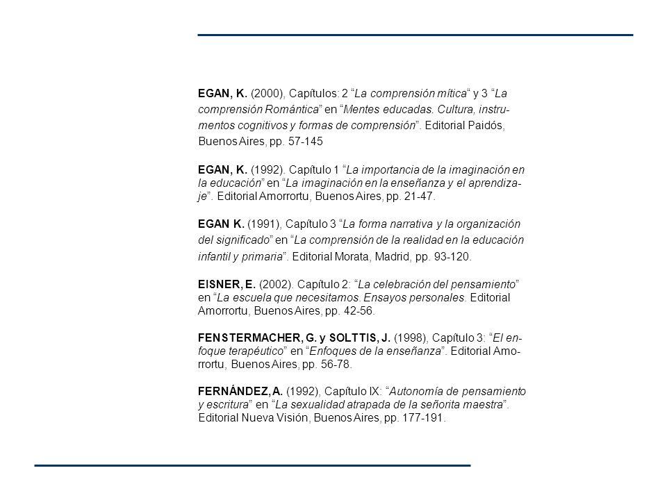 FERNÁNDEZ, A.(2000), Capítulo IX: Humor y aprendizaje enPsicopedagogía en psicodrama.