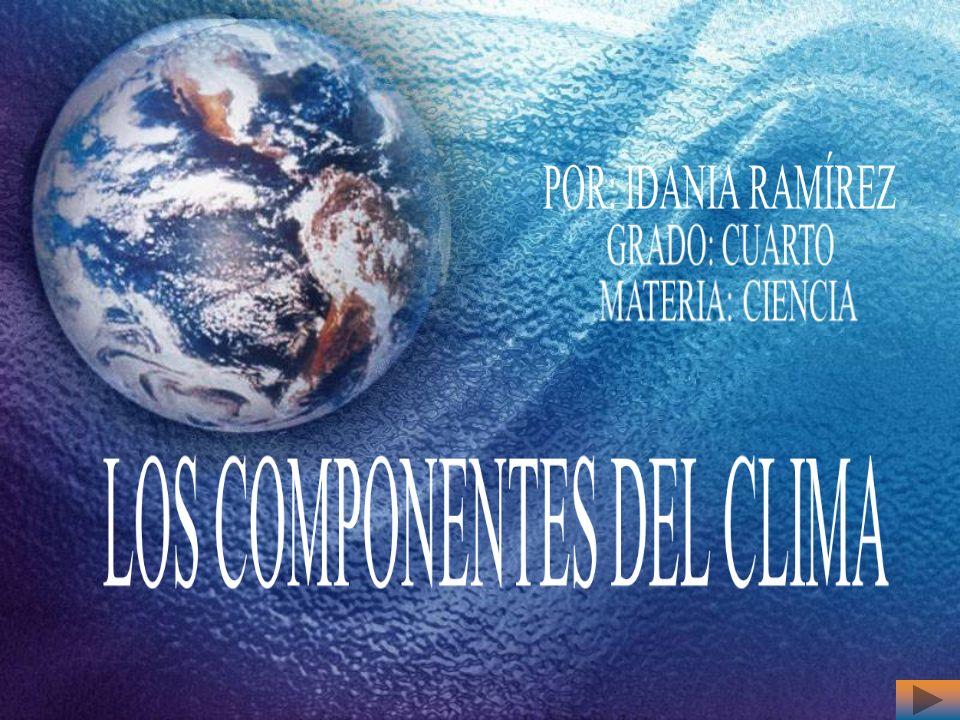 COMENZAR Instrucciones|JustificaciónInstrucciones|Justificación|Introducción|Objetivos|Pre-Prueba| Los Componentes del Clima |Ejercicios Prácticos |Post- PruebaIntroducciónObjetivosPre-PruebaLos Componentes del Clima Ejercicios Prácticos Post- Prueba