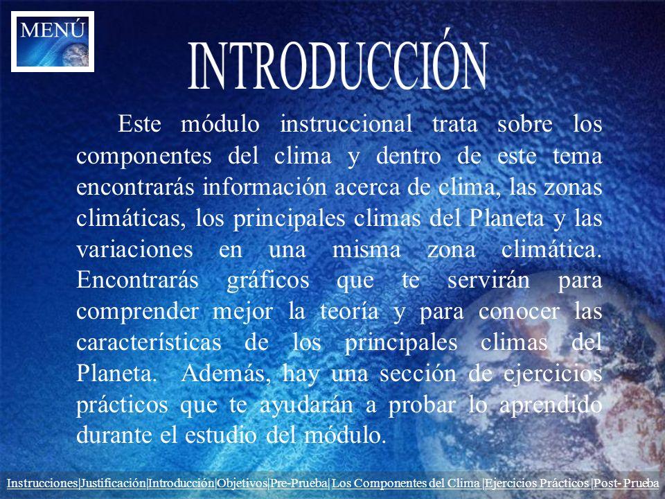 Al finalizar la clase los estudiantes estarán en condiciones de: Identificar y reconocer las zonas climáticas del Planeta.