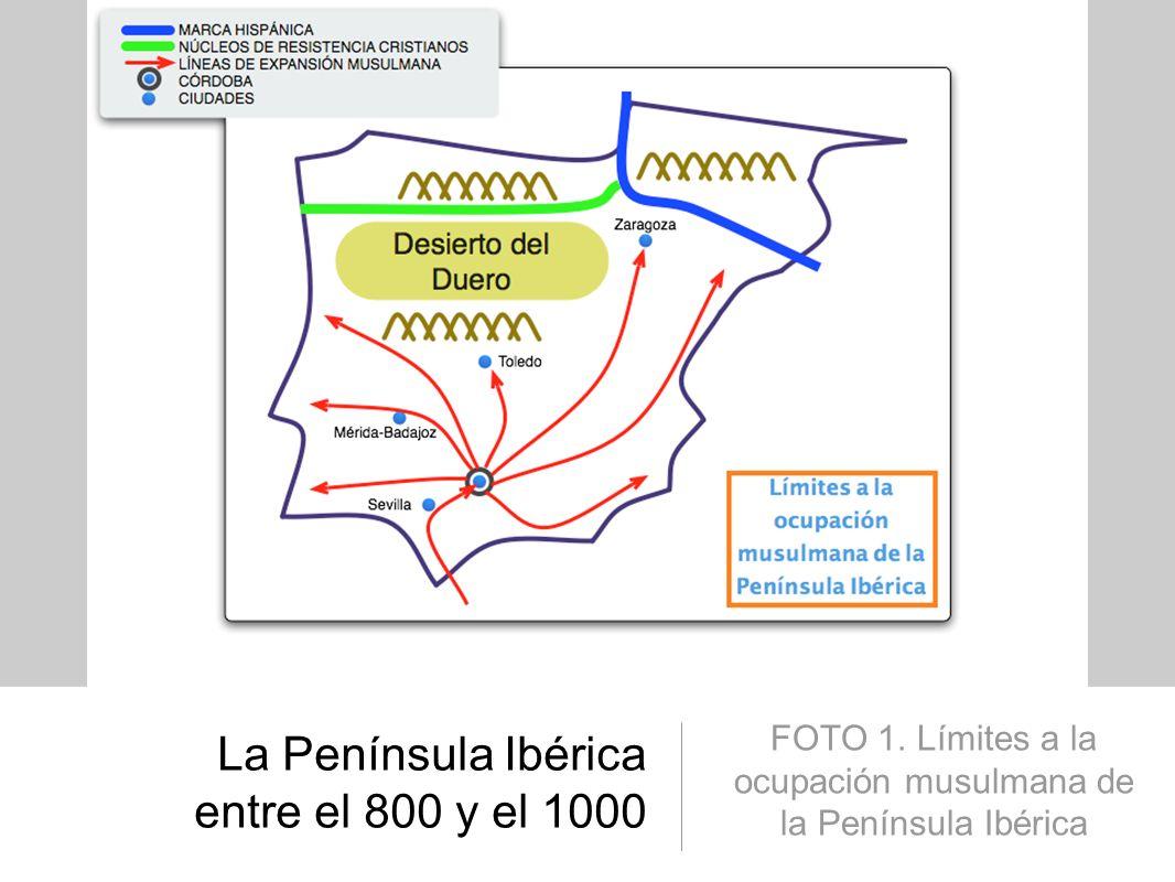 La Península Ibérica entre el 800 y el 1000 FOTO 2.