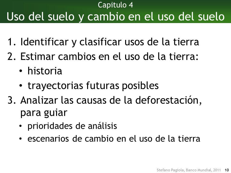 Stefano Pagiola, Banco Mundial, 2011 9 Capitulo 4 Capitulo 7 Capitulo 6 Capitulo 4 Capitulo 5 ¿Qué necesitamos saber.