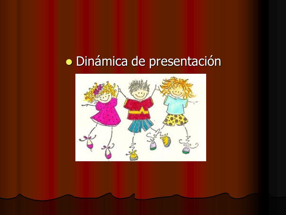 Dinámica de presentación Dinámica de presentación
