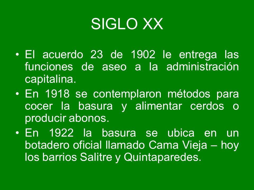 CONFLICTO AMBIENTAL SOCIAL DERRUMBE SEPTIEMBRE 1997 Consecuencias Cambio de operador del relleno Sanitario.