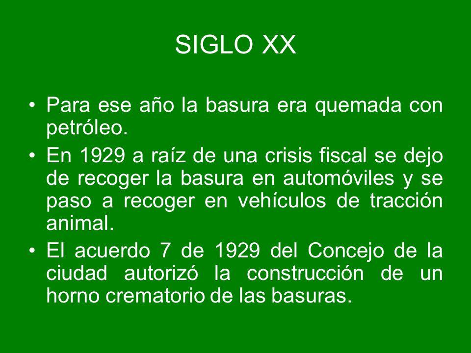 En 1954, Bogotá se convierte en Distrito Especial y el Concejo junto con la Caja Agraria contrata un estudio para crear una empresa que se responsabilice de las basuras.