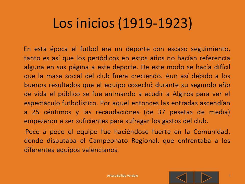 Mestalla, el nuevo campo En 1923 la afición del Valencia C.F había crecido ya considerablemente y la construcción de un nuevo estadio era ya algo necesario, los dirigentes valencianistas comenzaron a buscar parcelas en venta para construir un nuevo campo para el equipo.