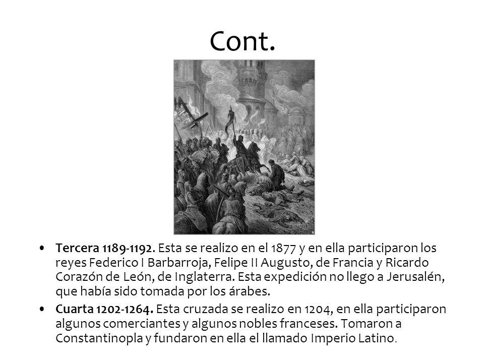 Cont.Tercera 1189-1192.