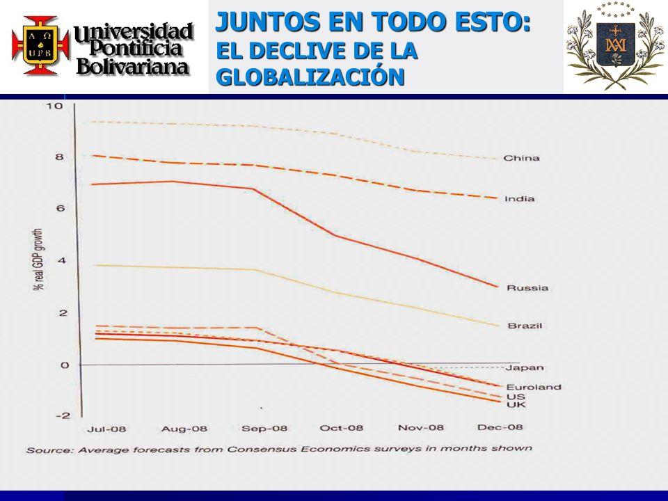JUNTOS EN TODO ESTO: EL DECLIVE DE LA GLOBALIZACIÓN