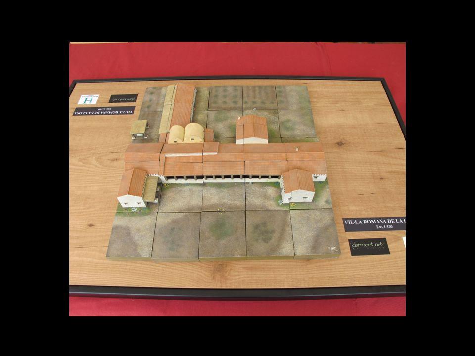 En el año 2011 se presentó la segunda parte del proyecto consistente en la realización de la maqueta didáctica de los restos arqueológicos de la villa de la Llosa.