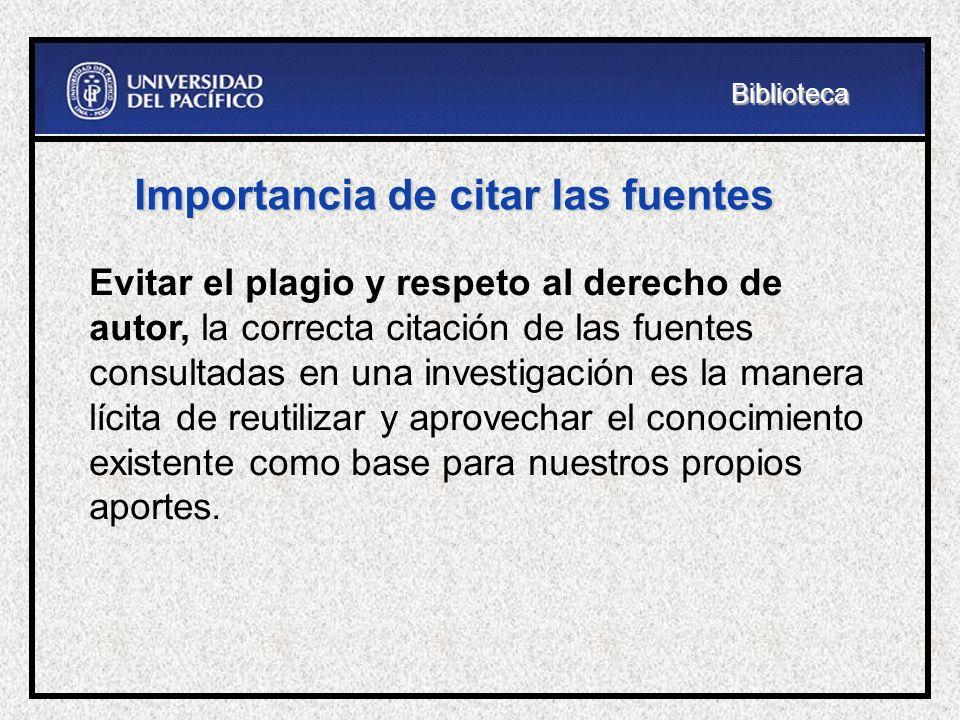 Fuentes de información electrónicas o Bases de datos de artículos a texto completo: EBSCO, Proquest, JSTOR, EMIS.EBSCOProquestJSTOREMIS o Bases de datos estadísticos: Perú en Números, Compendio Estadístico INEI.