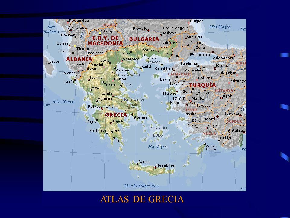 ATLAS DE GRECIA