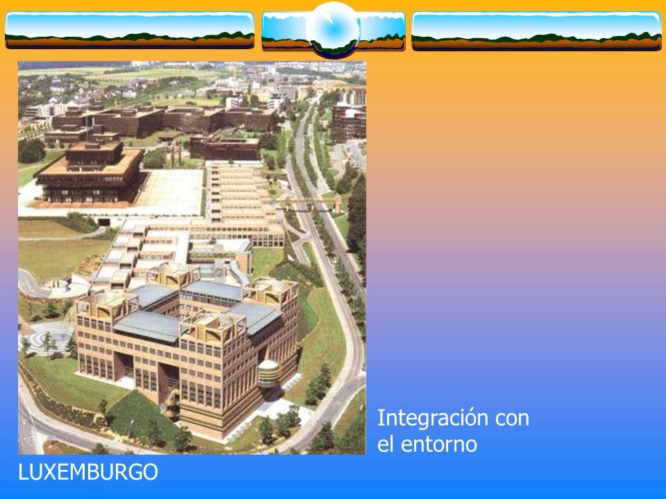 LUXEMBURGO Integración con el entorno