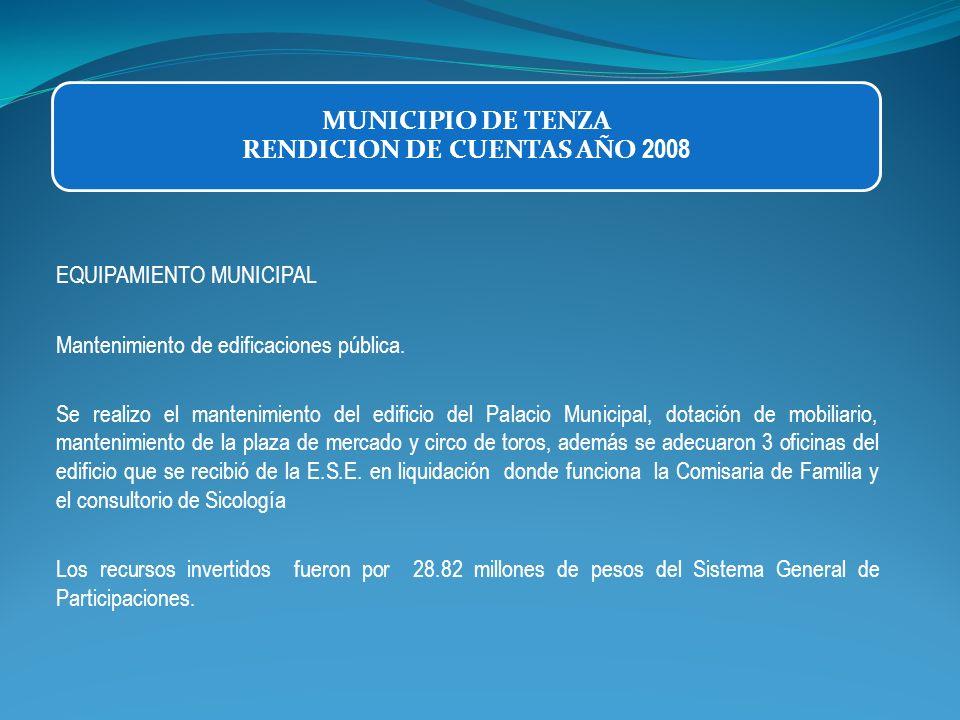 EQUIPAMIENTO MUNICIPAL Mantenimiento de edificaciones pública. Se realizo el mantenimiento del edificio del Palacio Municipal, dotación de mobiliario,