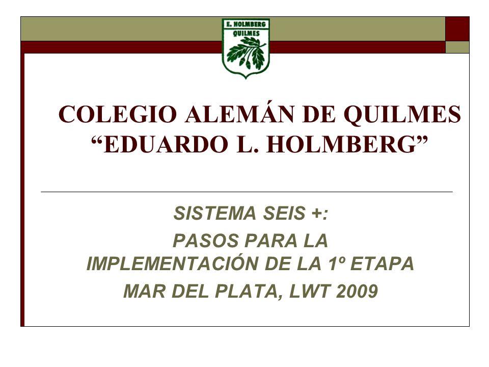 COLEGIO ALEMÁN DE QUILMES EDUARDO L.