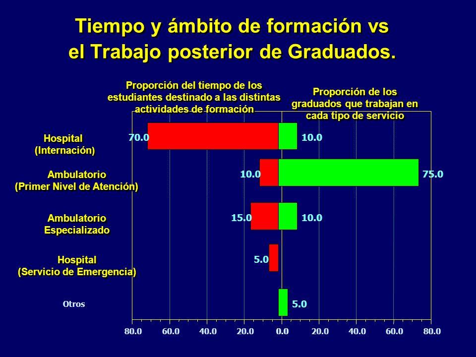 0.020.040.060.080.00.020.040.060.080.0 Proporción del tiempo de los estudiantes destinado a las distintas actividades de formación Proporción de los g