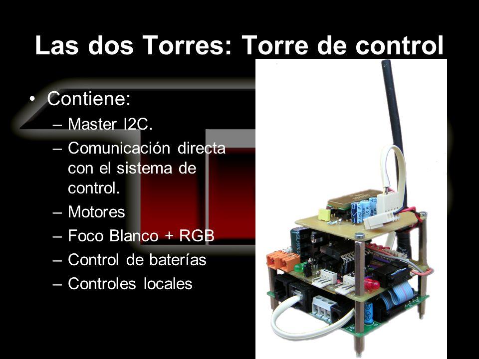 Las dos Torres: Torre de control Contiene: –Master I2C.