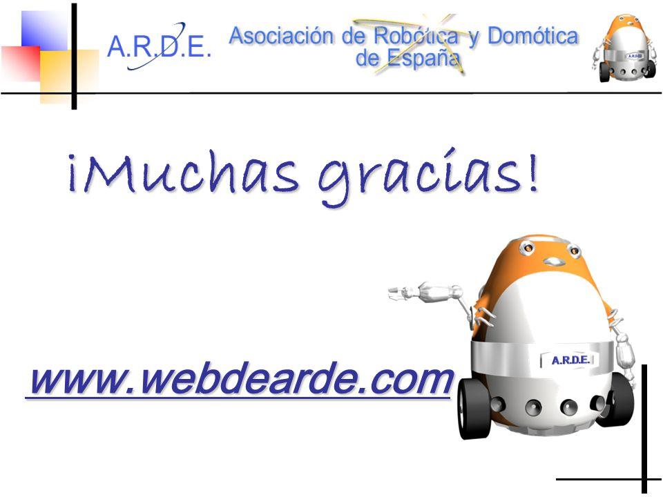 www.webdearde.com ¡Muchas gracias!