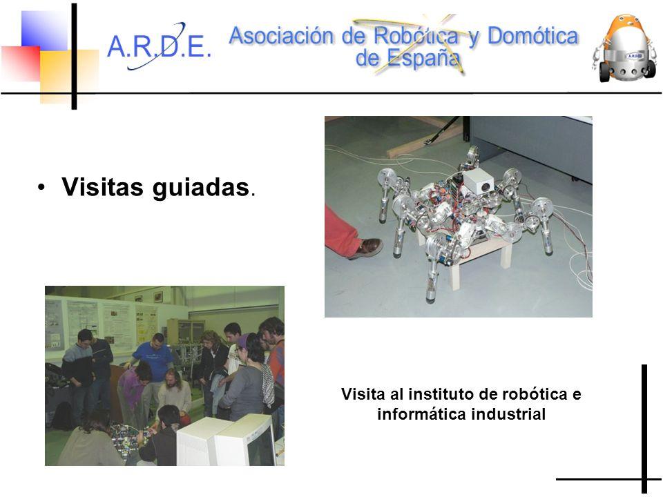 Visita al instituto de robótica e informática industrial Visitas guiadas.