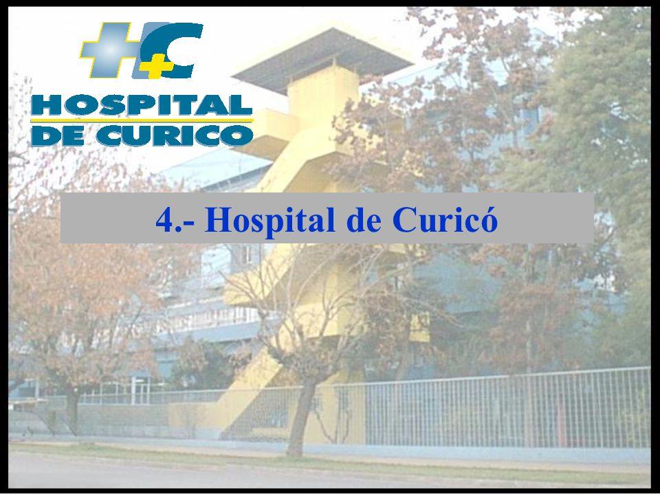 4.- Hospital de Curicó