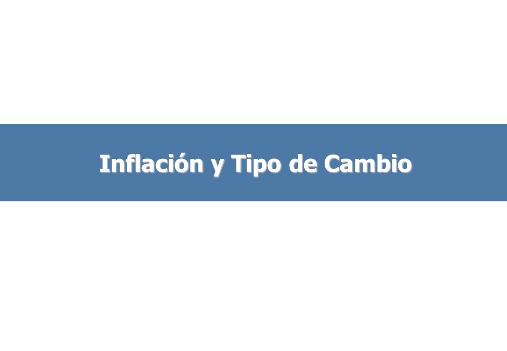 Inflación y Tipo de Cambio