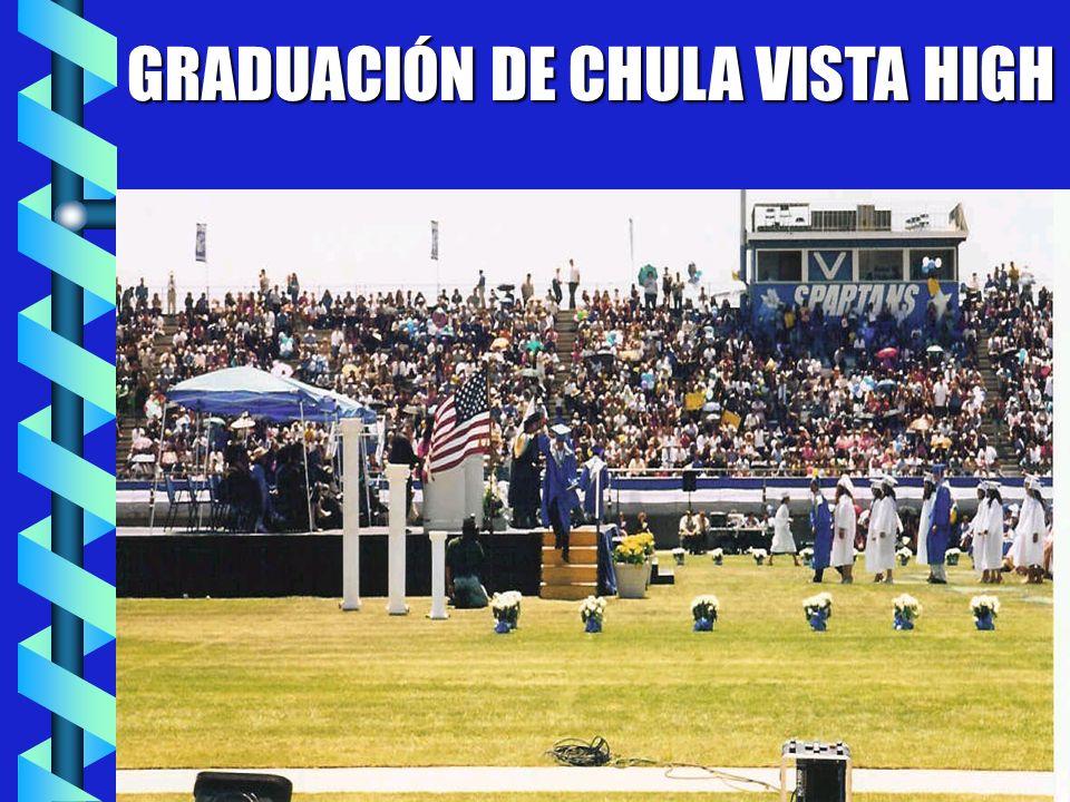 GRADUACIÓN DE CHULA VISTA HIGH