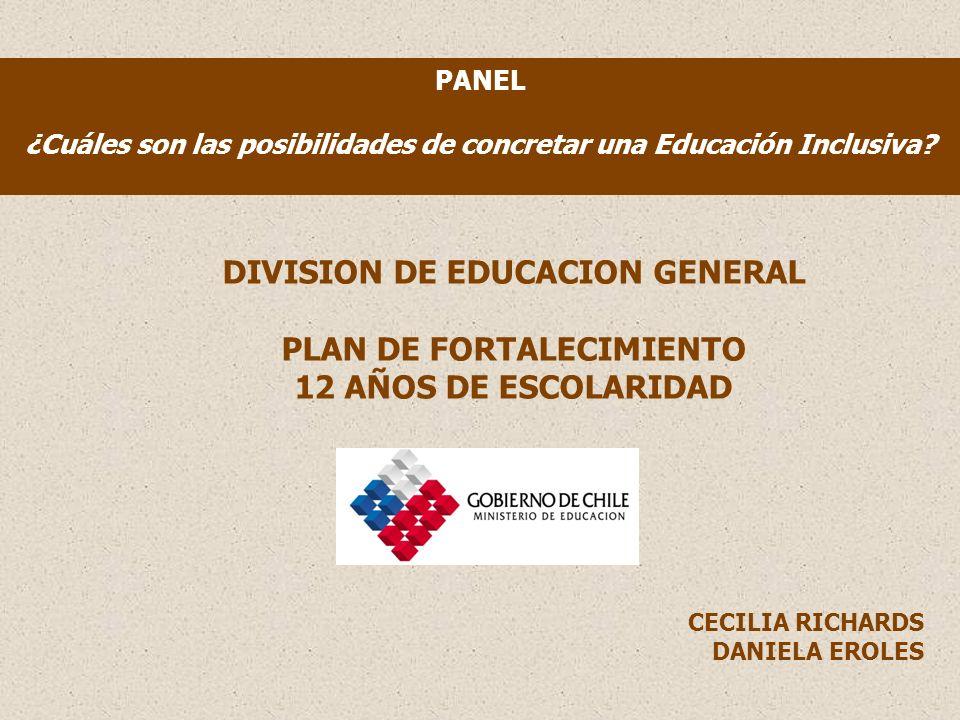 PANEL ¿Cuáles son las posibilidades de concretar una Educación Inclusiva.