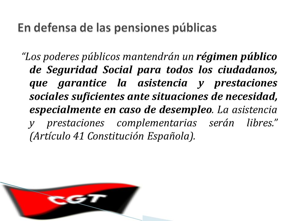 Los derechos violados son concretos: Se priva del derecho a pensión a un número importante de trabajadores por no tener los 25 años efectivos de cotización.
