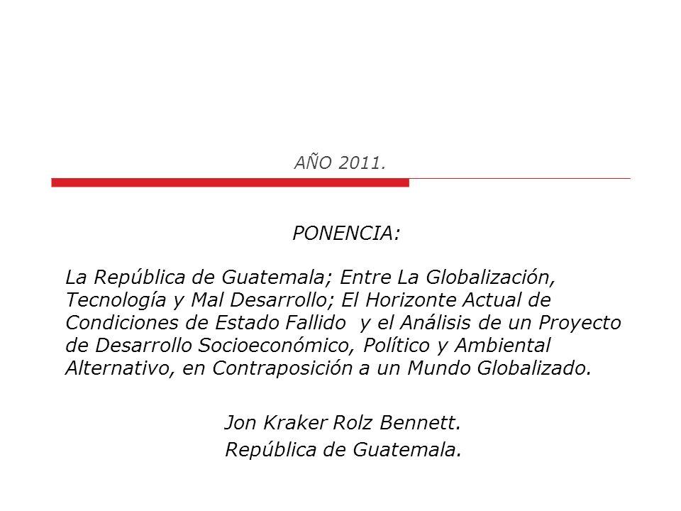AÑO 2011.7. Deslegitimación del Estado: Saldo en Rojo 8.5/10 8.