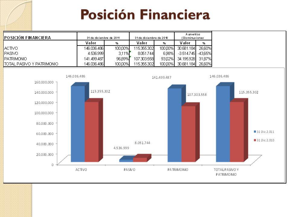 Posición Financiera