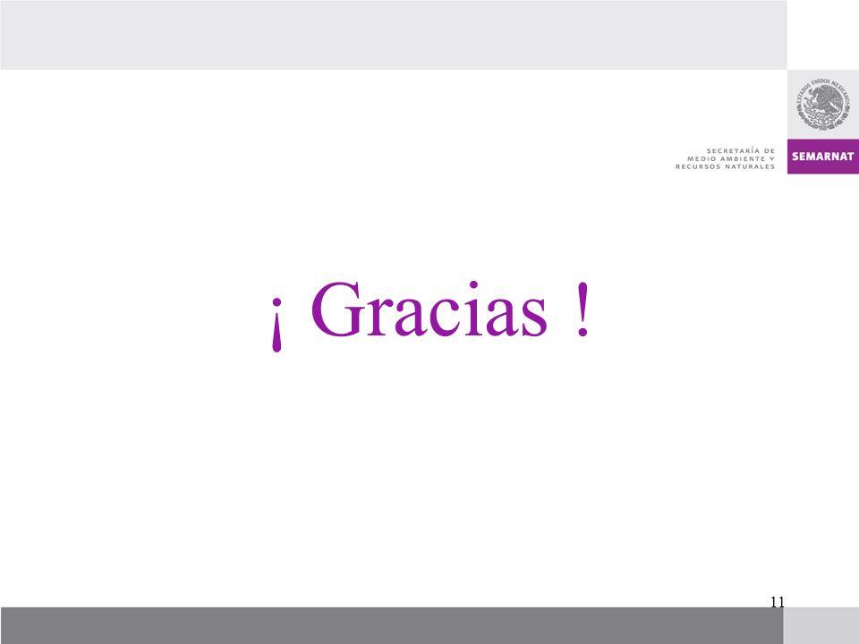 11 ¡ Gracias !
