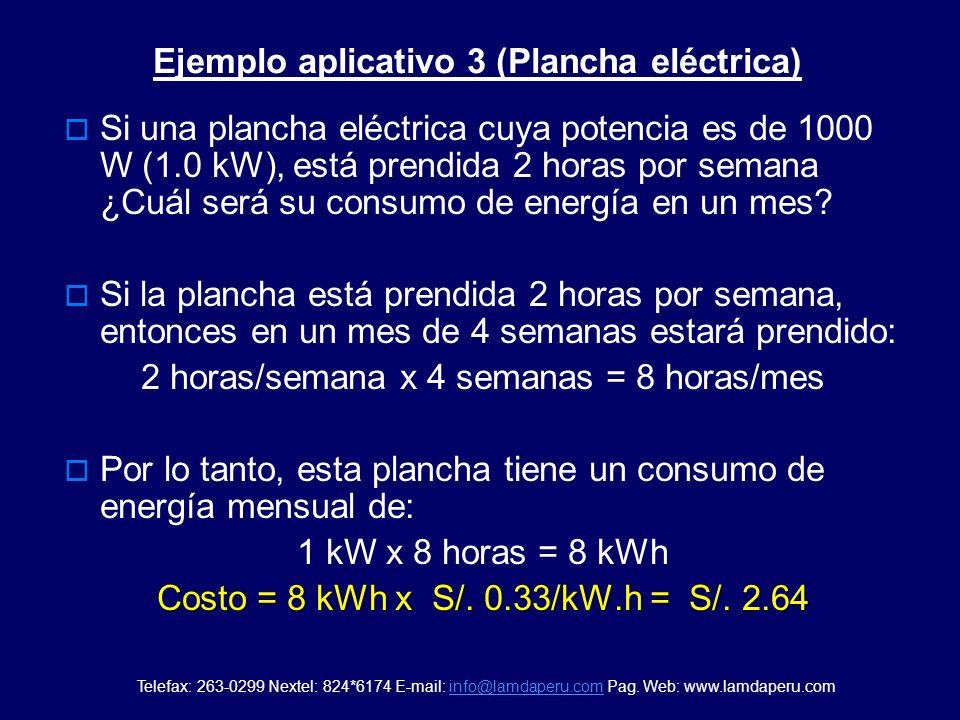 Si un televisor de 14 cuya potencia es de 80 W (0.08 kW), está prendido ocho horas diarias ¿Cuál será su consumo de energía en un mes? Si un televisor