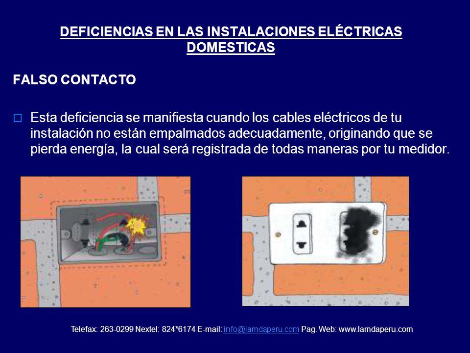 1.Que tus instalaciones eléctricas tienen deficiencias tales como una fuga a tierra, falso contacto o algún otro deterioro. 2.Que el medidor está func
