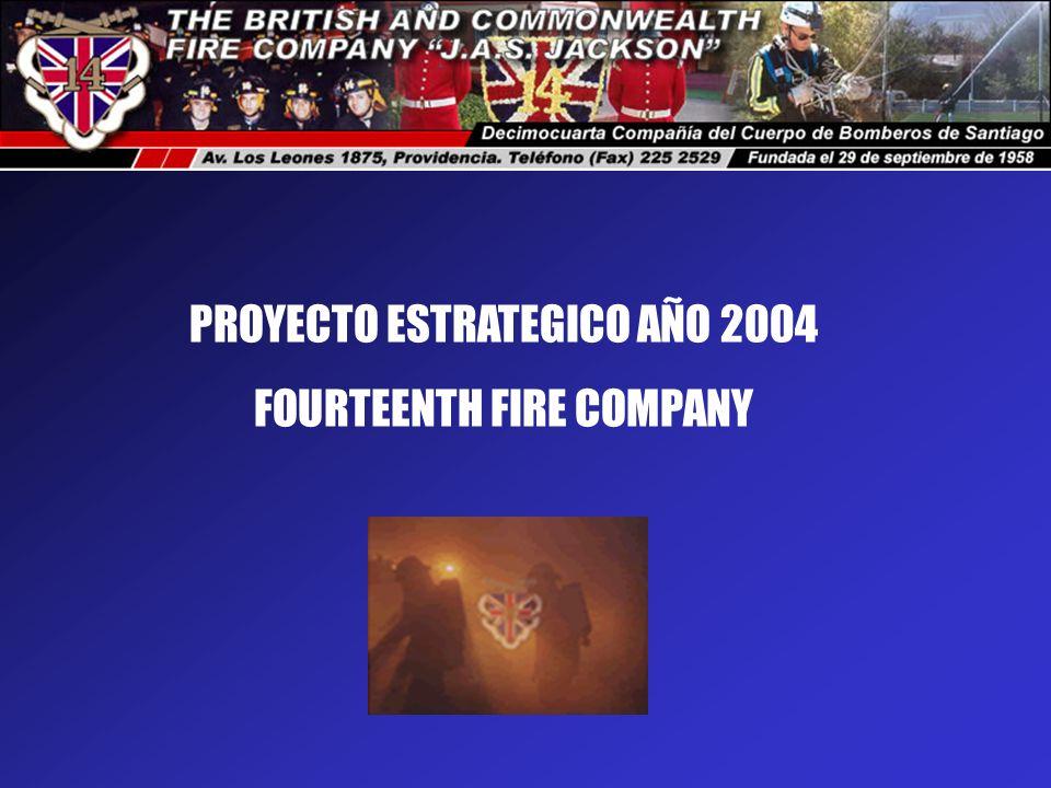 PROYECTO ESTRATEGICO AÑO 2004 FOURTEENTH FIRE COMPANY