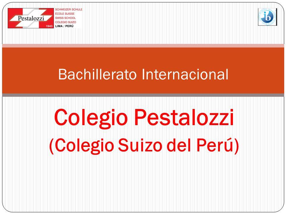 Colegio Pestalozzi (Colegio Suizo del Perú) Bachillerato Internacional