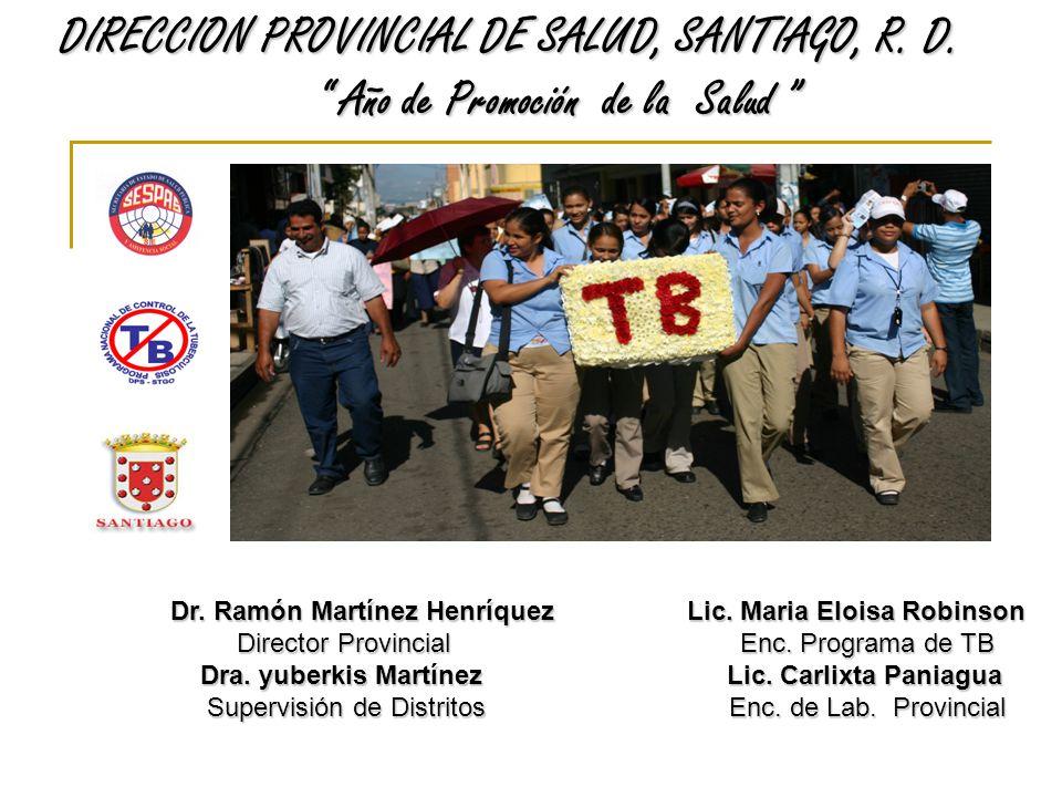 DIRECCION PROVINCIAL DE SALUD, SANTIAGO, R. D.