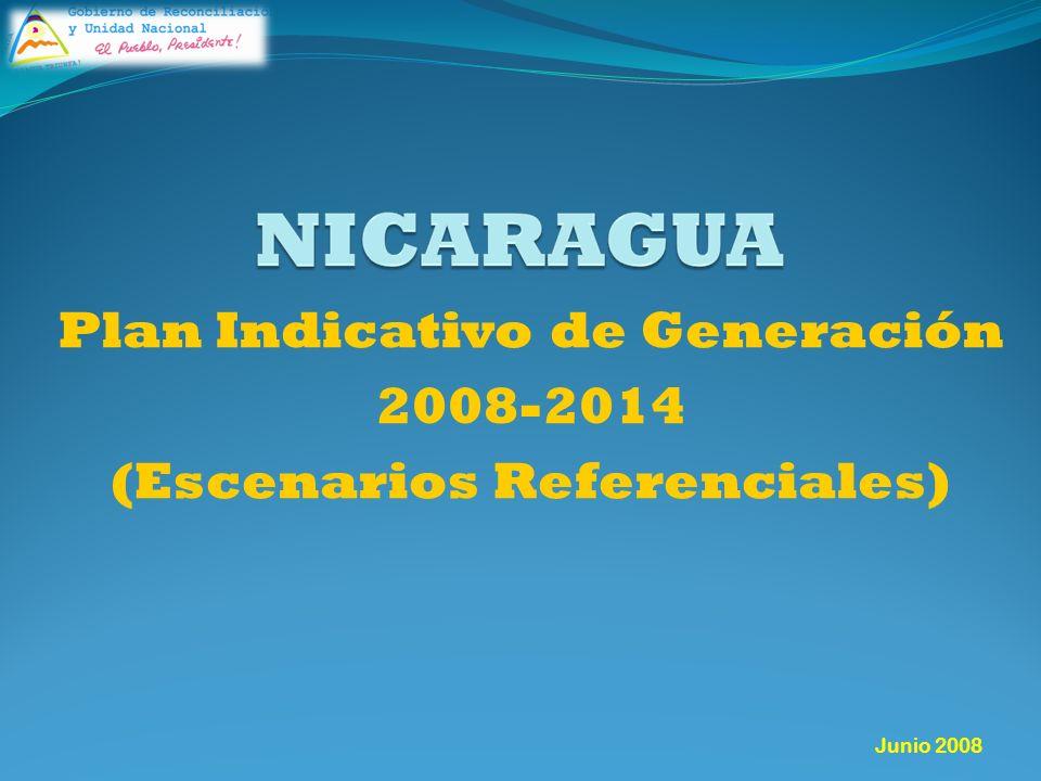 Junio 2008 Plan Indicativo de Generación 2008-2014 (Escenarios Referenciales)