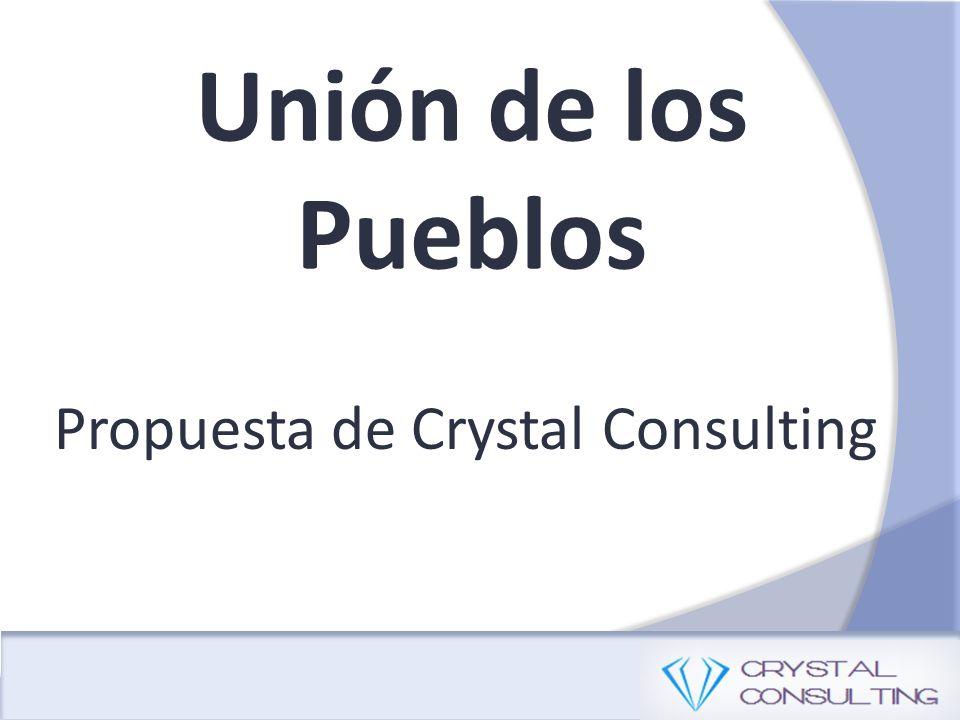 Unión de los Pueblos Propuesta de Crystal Consulting
