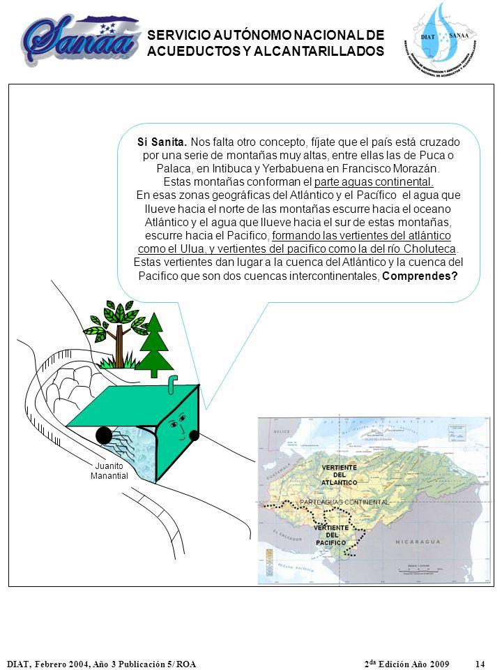 Si Sanita. Nos falta otro concepto, fíjate que el país está cruzado por una serie de montañas muy altas, entre ellas las de Puca o Palaca, en Intibuca